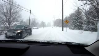 OWNERS snowy driving review of the 2013 Subaru XV Crosstrek