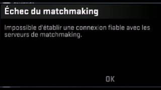 Tuto CSGO : Impossible d'établir une connexion fiable avec les serveurs de matchmaking