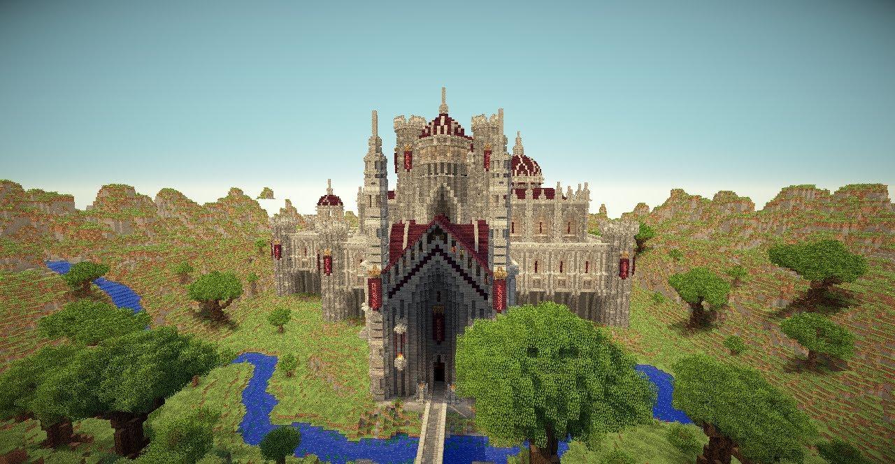 Castle Minecraft Creation Youtube