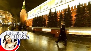 Winter Moscow 2017: Alexander Gardens and Tomb of  Unknown Soldier. Russian Unofficial Travel Guide