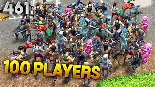 100 PLAYERS IN ONE SPOT..!!! Fortnite Daily Best Moments Ep.461 Fortnite Battle Royale Funny Moments