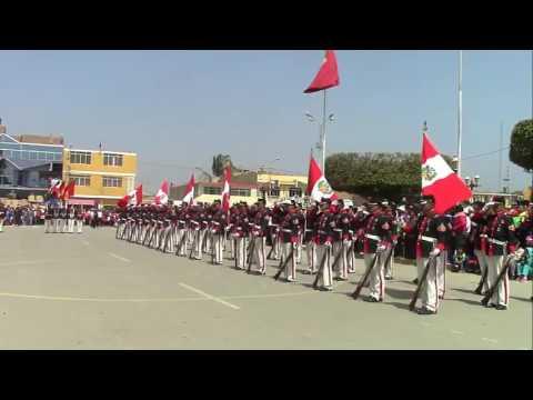IMPRESIONANTE DEMOSTRACIÓN DE LA COMPAÑÍA JUAN  FANNING - Marina de Guerra del Perú