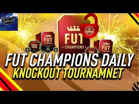FIFA 18   COMPLETING SBCs   DAILY KNOCKOUT TOURNAMENT  