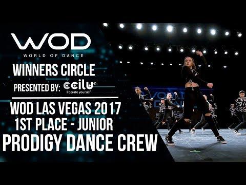 Prodigy Dance Crew | 1st Place Junior | Winners Circle | World of Dance Las Vegas 2017 | #WODLV17