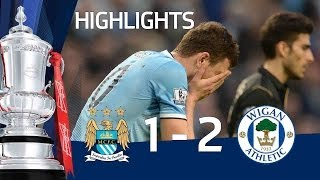 Video Gol Pertandingan Manchester City vs Wigan Athletic
