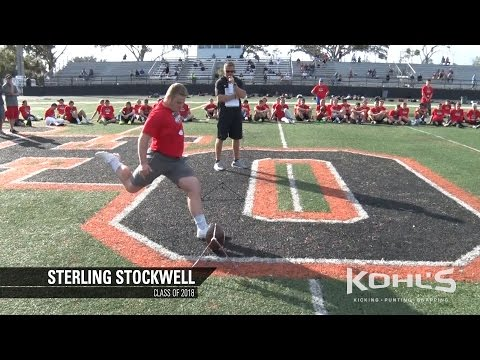Sterling Stockwell | #10 Ranked Kicker in America | Class of 2018