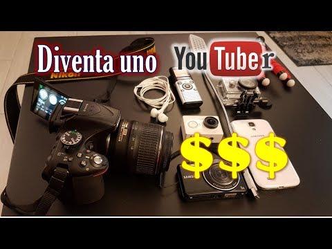 Come diventare uno Youtuber Guadagnare, ottimizzare e Fare video su YouTube
