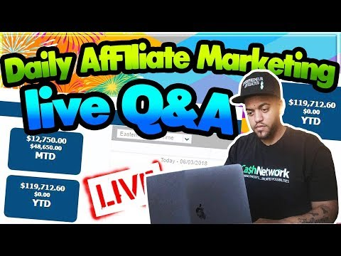 How To Start Affiliate Marketing For Beginners – Live Q/A