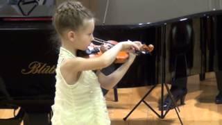 """Вариации Паганини и """"Прялка"""" Яньшинов. Скрипка с оркестром. Скрипачка Катерина Попова."""