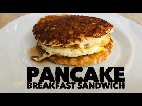 Pancake Breakfast Sandwiches !! Mmm