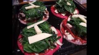 How To Make Gluten Free Pizzas For Dinner! Pizza Toppings Veg Or Non Vegetarian
