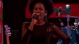 MzVee performs at Akosua Agyapong at 25 concert