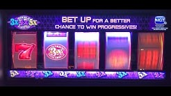OLD SCHOOL SLOT PLAY: 5 REEL MADNESS! 5 TIMES PAY! DOUBLE 3X4X5X! DOUBLE DIAMOND! TRIPLE RED HOT!