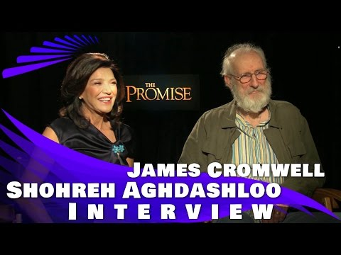 THE PROMISE - Shohreh Aghdashloo and James Cromwell Interview