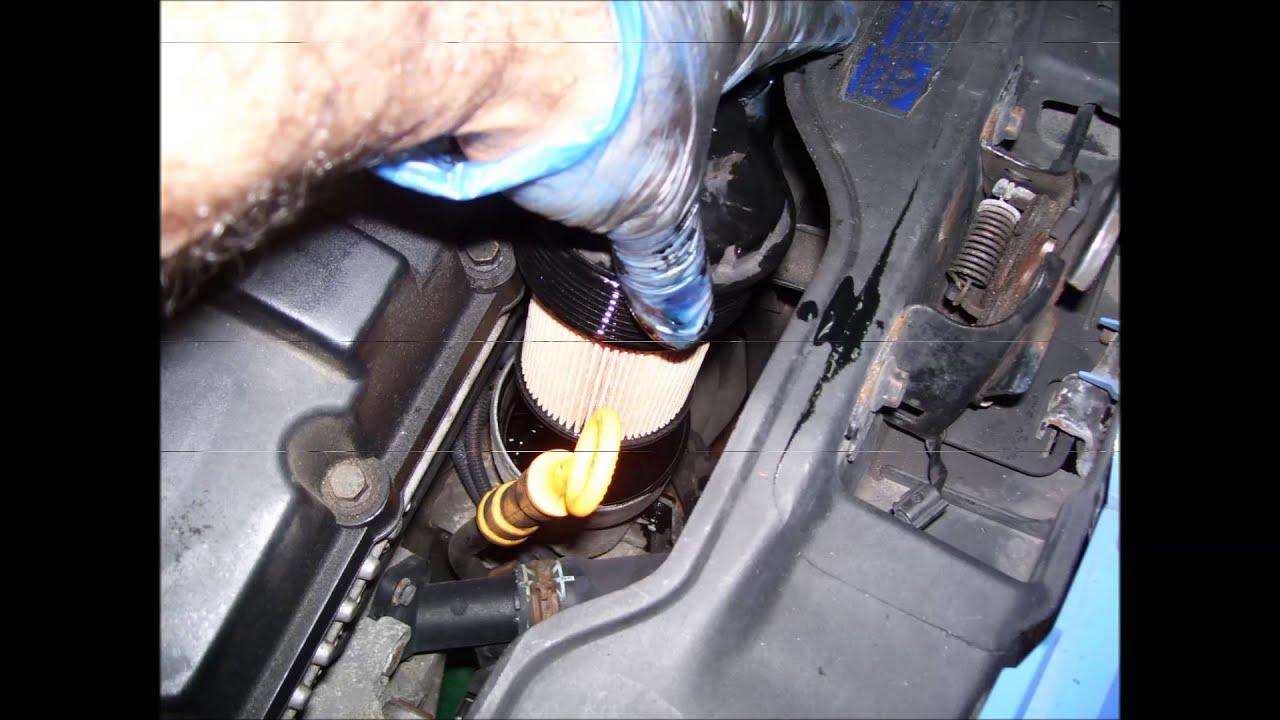 VOLKSWAGEN LUPO 1.2 TDI 3L. 3 Cambiar aceite motor y ...