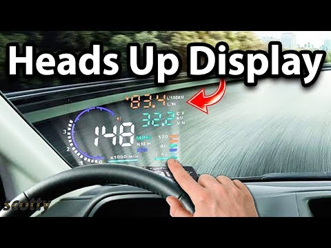 Heads Up Display For Your Car