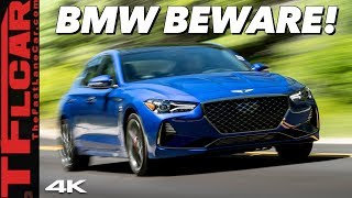 The 2019 Genesis G70 Is A Sports Sedan That Can Thrash Its German Rivals!