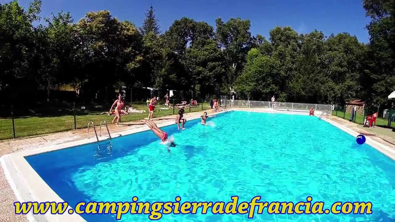 summertime en camping sierra de francia - youtube