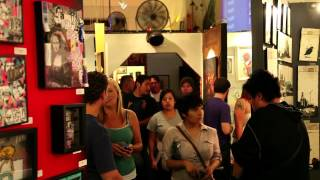 """Gallery Row Art Walk"" - Art Walks Around the World hosted by Nic Cha Kim"