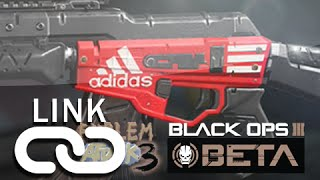 Black Ops 3 Beta: ADIDAS Theme Paint Job LINK