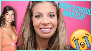 How I Did My Makeup In High School | Laura Lee