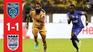 Hero ISL 2018-19 | Kerala Blasters FC 1-1 Mumbai City FC | Highlights