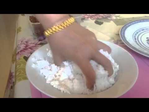เทคนิคการ นวดสาคู เพื่อทำสาคูไส้หมู