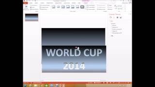 PowerPoint Tutorial Awesome title slide effect