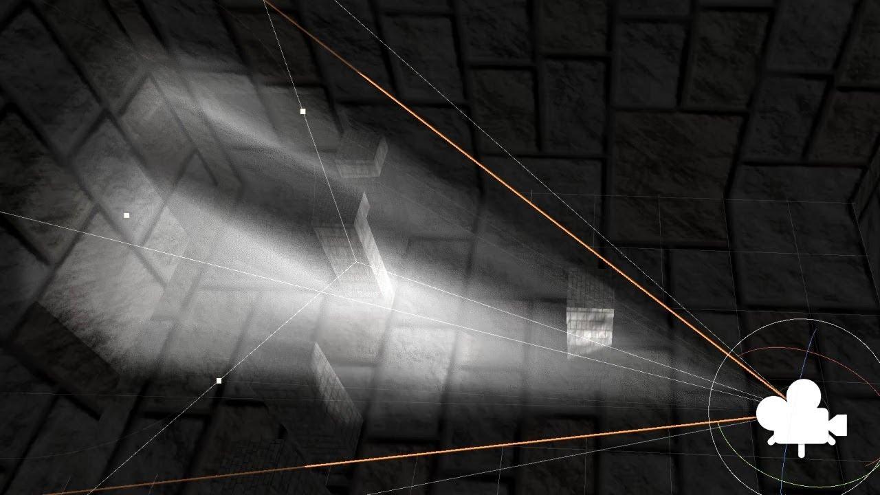 Unity Volumetric Spotlight - Custom ray-marching shader