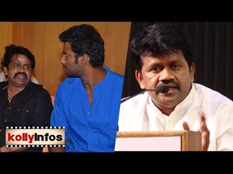 நடிகர்சங்கத்தை விஷால் நடத்தல - JK Rithish against to Vishal | Producers Council Election
