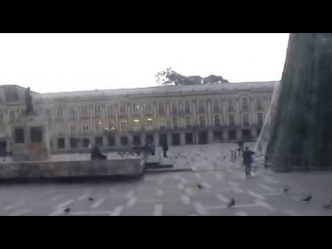Colombia- Simon Bolivar Square- Plaza Bolivar, Bogota