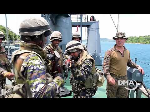 U.S., Sri Lankan Marines Train Together During CARAT Exercise