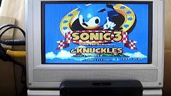 Pseudo Saturn Kai Sonic Jam test