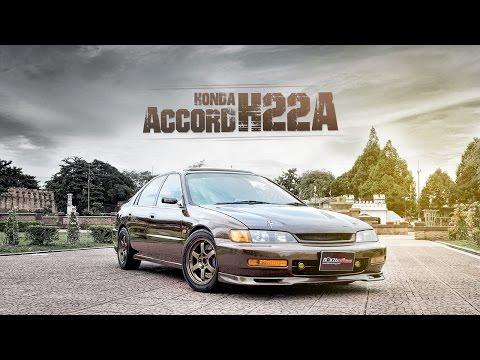 Honda Accord ท้าย 2 ก้อน ที่มาพร้อมกับเครื่อง H22A แบบชุดใหญ่ By BoxzaRacing.com