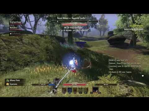 ESO Heavy Magicka Templar PvP Build HOTR/Morrowind
