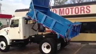 1996 International 4700 Dump Truck