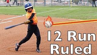 ⚾️Giants 12 Run Mercy Rule Red Sox at Baseball Game 16-4