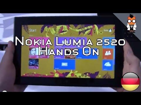 Nokia Lumia 2520 Hands On und Kurztest [Deutsch - German]