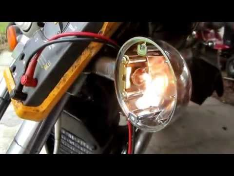 Troubleshoot/Repair a Motorcycle Turn Signal Light - YouTube