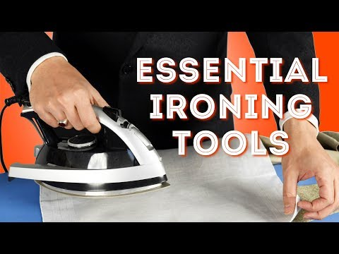 Essential Ironing Tools - Part I - How To Iron Like A Pro At Home - Gentleman's Gazette