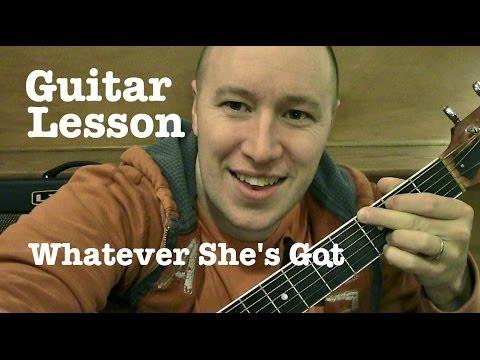 Whatever She's Got ★ Guitar Lesson ★ Tutorial ★ David Nail