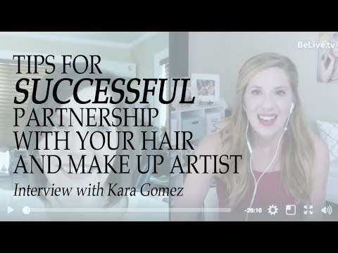 Tips for Successful Partnership with your Hair and Makeup Ar