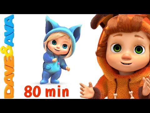Thumbnail: If You're Happy and You Know It | Nursery Rhymes Collection and Baby Songs from Dave and Ava