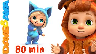 Download If You're Happy and You Know It | Nursery Rhymes Collection and Baby Songs from Dave and Ava Mp3 and Videos