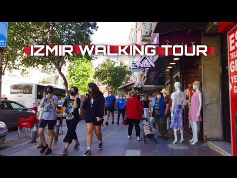 [4K] Izmir City: Walking Tour From Fahrettin Altay to Göztepe, 2 June 2021 | Turkey