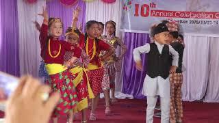 Gojima Daam Chaina    Prajita Educational Academy    Nepali Dancing Video   
