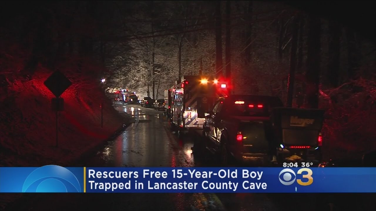 15-Year-Old Boy Rescued From Lancaster Cave