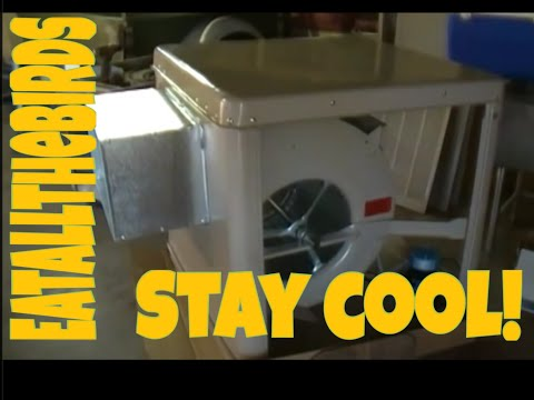 """Swamp Cooler Installation"" ""How To Install An Evaporative Cooler"""