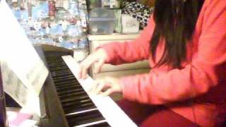 Kung Fu Dunk - Song when Jay Chou cheers up Charlene Choi Piano Cover