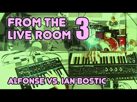 Roland SH2 / Novation Bass Station II / Boss CH1 / DD7 / Vestax DDX - From the Live Room 3